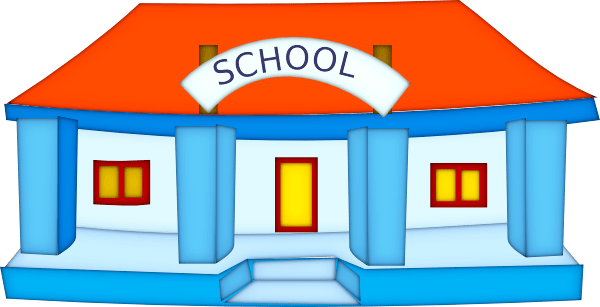 Picture Of A School Clipart