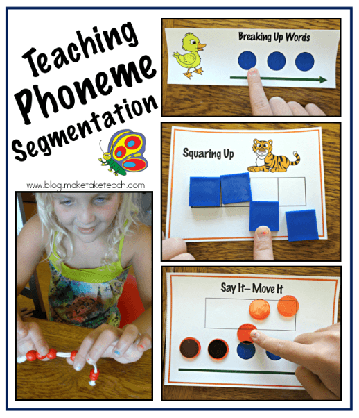 Teaching Phoneme Segmentation