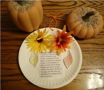 Fall Crafts For Sunday School Kids
