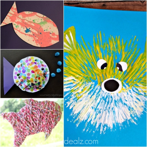 Adorable Fish Crafts For Kids