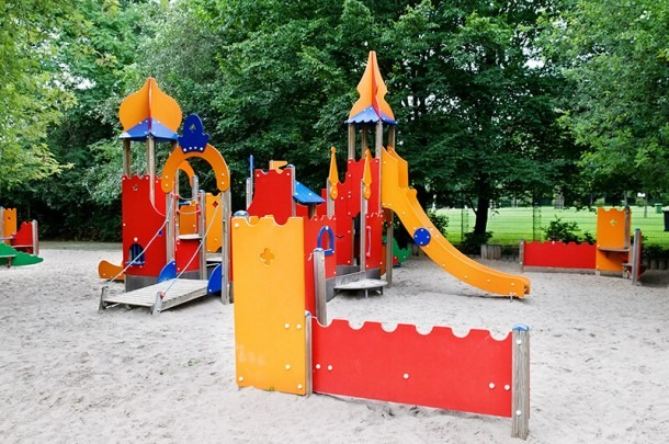 Outside Play Area For Fun
