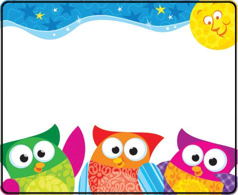 Free Owl Borders, Download Free Clip Art, Free Clip Art On Clipart