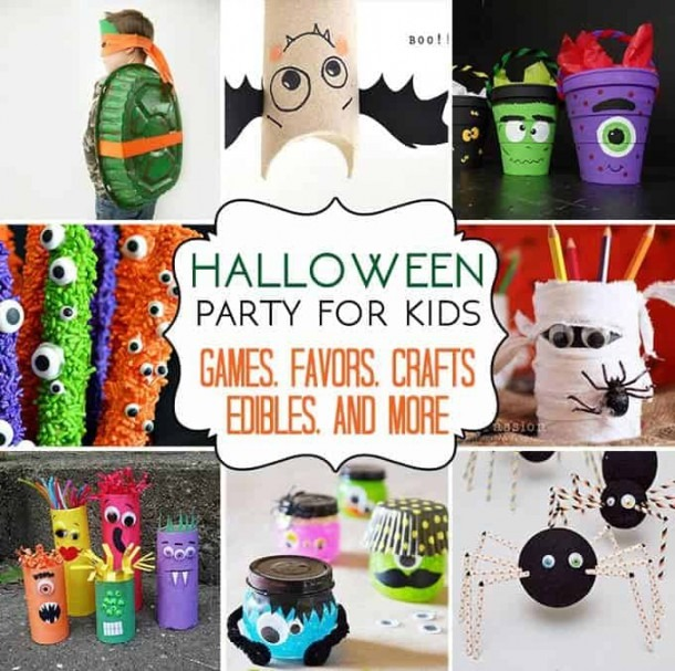 37 Halloween Party Ideas  Crafts, Favors, Games & Treats