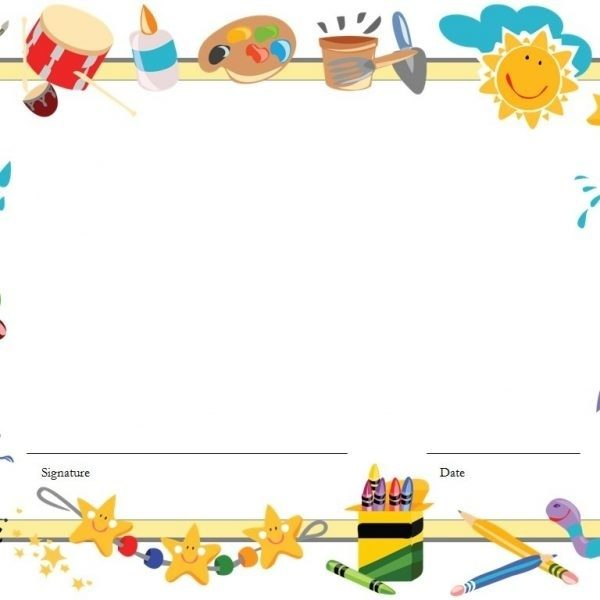Kindergarten Clipart Borders, Kindergarten Borders Transparent