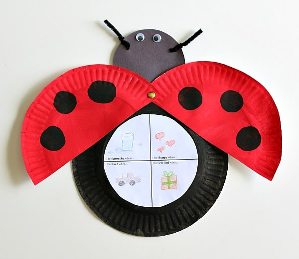 The Grouchy Ladybug Craft For Kids (with Free Printable)