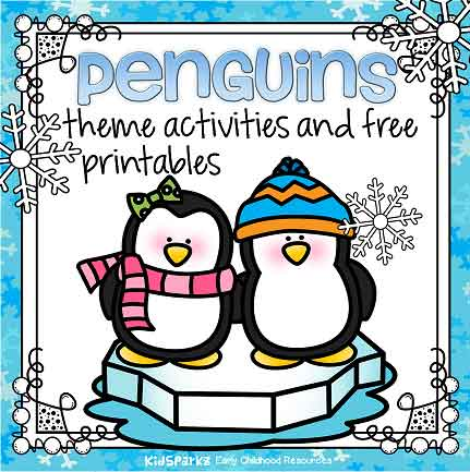 Penguins Theme Activities And Printables For Preschool And