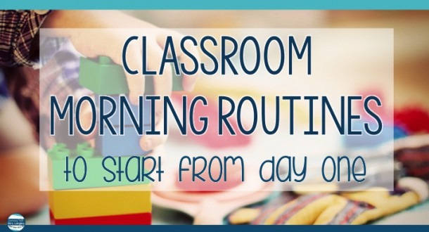Morning Routines In Kindergarten