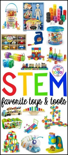 Stem Tools And Toys For Preschool, Pre