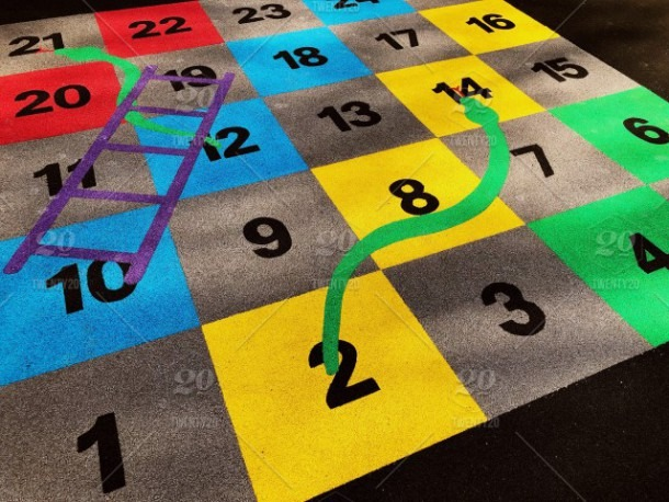 Number Games At Kid's Playground Stock Photo 41a687cc