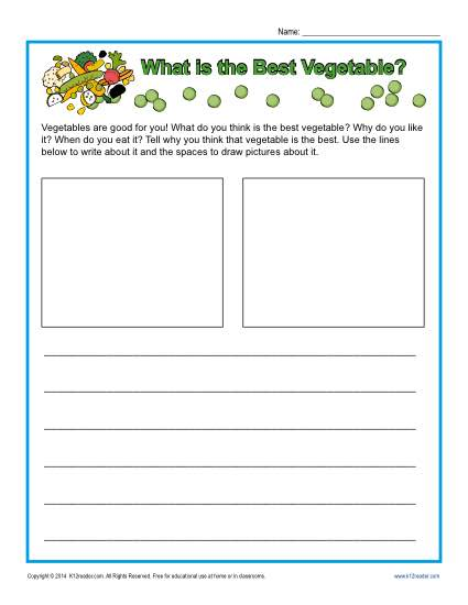 Kindergarten Writing Prompt