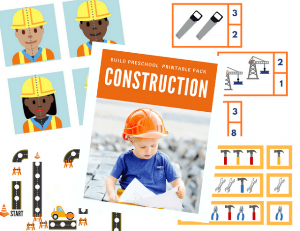 Construction Theme Activities