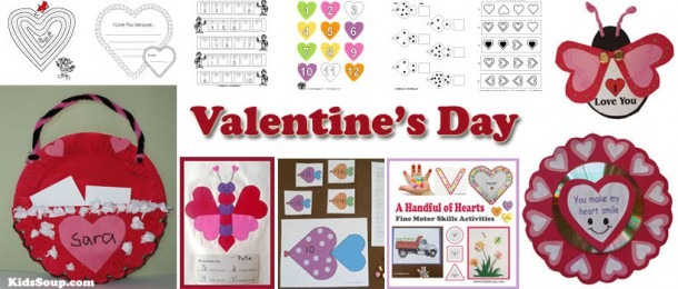 Preschool Valentine's Day Activities, Games, And Printables