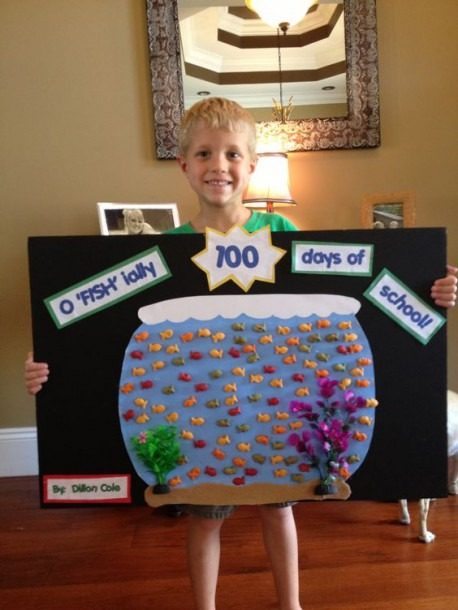 10 Easy Poster Ideas To Celebrate Your Child's First 100 Days Of