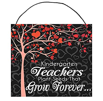 Amazon Com  Teachers Plant Seeds That Grow Forever Wood Sign By