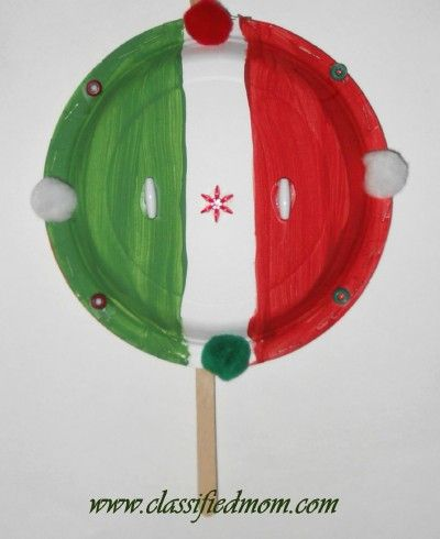 Maracas Craft For Preschoolers