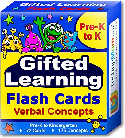 Amazon Com  Gifted Learning Flash Cards – Verbal Concepts And
