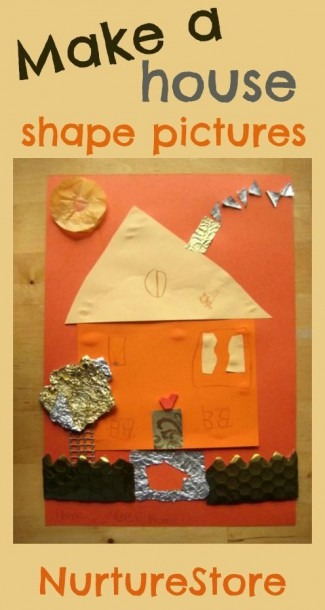 Make A House Shape Pictures