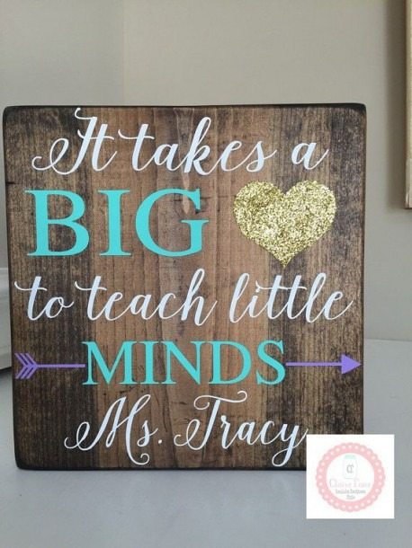 It Takes A Big Heart To Teach Little Minds By Clairelanereclaim