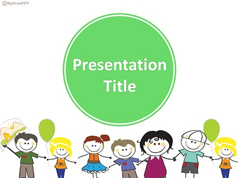 Free Cheerful Powerpoint Templates