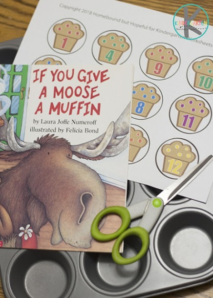 If You Give A Moose A Muffin Math Activity