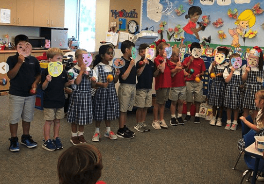 Pk3 Had A Wonderful Surprise From Sra  Pavez's Spanish Class
