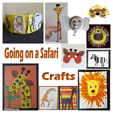 Going On A Safari Crafts, Activities, Games, And Emergent Readers