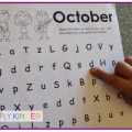 Fluency For Kindergarten Alphabet