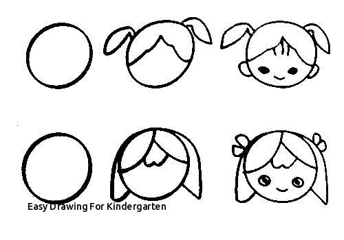 Easy Drawing For Kindergarten