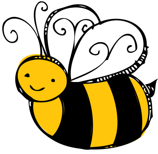 Spelling Bee Clipart Black And White Free 3 2